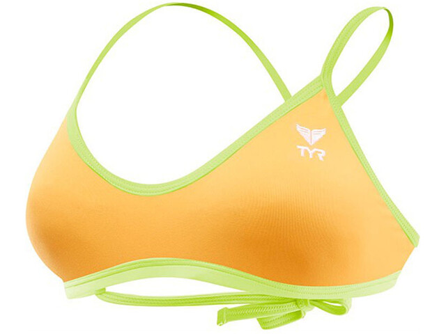 TYR Solid Crosscut - Bañadores Mujer - naranja